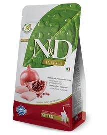 FARMINA N&D Cat Chicken & Pomegranate Kitten 300 g
